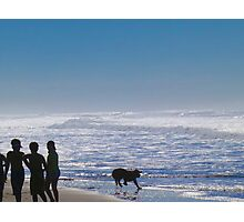 Fun on the Pacific Shore Photographic Print