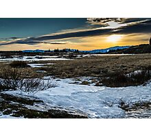 Iceland Sunset Photographic Print