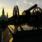 Jackson Square at sunset by bposs98