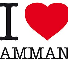I ♥ AMMAN by eyesblau