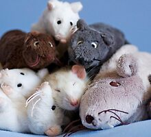 Rat pile by necilbug