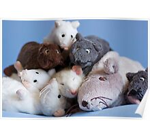 Rat pile Poster