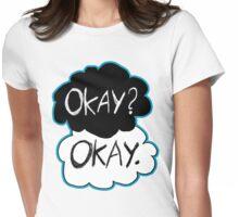 Okay? Okay.  Womens Fitted T-Shirt