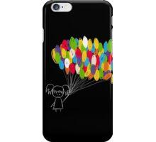 take me away- black iPhone Case/Skin