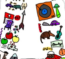 BS ABC's: A Sticker