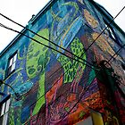Graffiti Alley Toronto 3 by Jason Dymock Photography