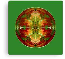Amazed on Green Canvas Print