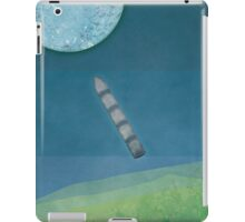 "Jules Verne ""From the Earth to the Moon"" iPad Case/Skin"