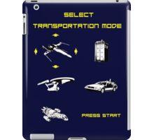 Sci-fi Transportation Modes 1 iPad Case/Skin