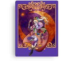 Kefka Palazzo from Final Fantasy VI Canvas Print