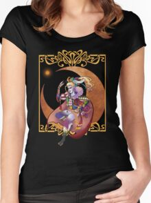 Kefka Palazzo from Final Fantasy VI Women's Fitted Scoop T-Shirt
