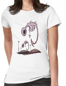 Floating Hollow Womens Fitted T-Shirt