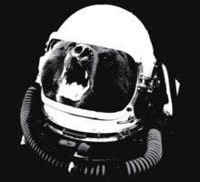 Reginald Space Bear by diosore