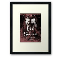 """""""The Dog and the Serpent""""  Books of Belshalara, Book One Framed Print"""