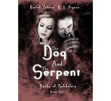 """The Dog and the Serpent""  Books of Belshalara, Book One Photographic Print"