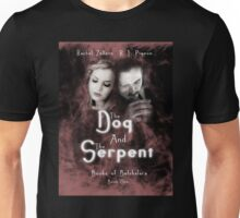 """""""The Dog and the Serpent""""  Books of Belshalara, Book One Unisex T-Shirt"""