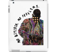 Notorious B.I.G. Mo Bitcoin Mo Problems iPad Case/Skin