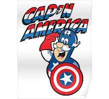 Cap'n America Poster