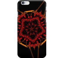 red vs black iPhone Case/Skin