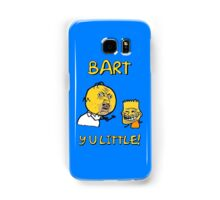 Y U Little Homer + Bart Simpson Mashup Meme Samsung Galaxy Case/Skin