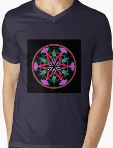 The Flower Garden Mens V-Neck T-Shirt
