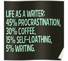 life as a writer Poster