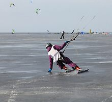 ice kiting by mrivserg