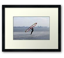 ice-wing Framed Print