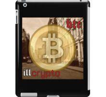 Bitcoin - BTC ill crypto iPad Case/Skin
