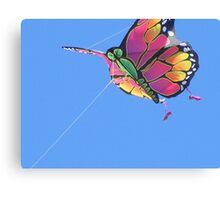 Today's Weather Report - Kite Weather Canvas Print