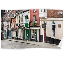 Steep Hill Poster