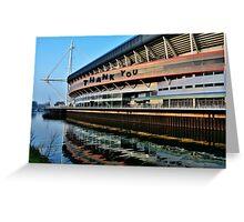 Millennium Stadium, Cardiff - Thank You Card Greeting Card