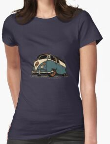 VW Tilted Womens Fitted T-Shirt