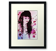 Shan - coloured Framed Print