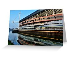 Millennium Stadium, Cardiff - Postcard or Greeting Card Greeting Card