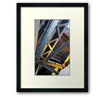 Build Me Up Framed Print