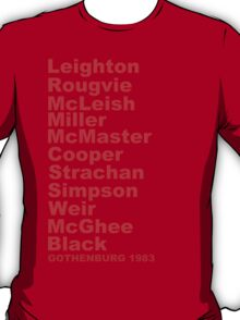 Gothenburg 1983 line-up T-Shirt