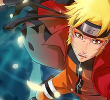 Naruto Sage Mode by Welterz