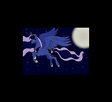 Princess Luna MLP FIM iPhone case by Lily Alford