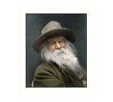 Walt Whitman, 1887 Art Print