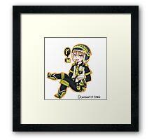 Noiz Chibi Framed Print