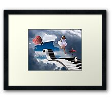 Free Falling.... Framed Print