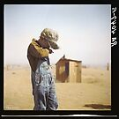 Farmer's Son, Dust Bowl, 1936 by Dana Keller