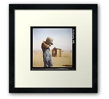 Farmer's Son, Dust Bowl, 1936 Framed Print