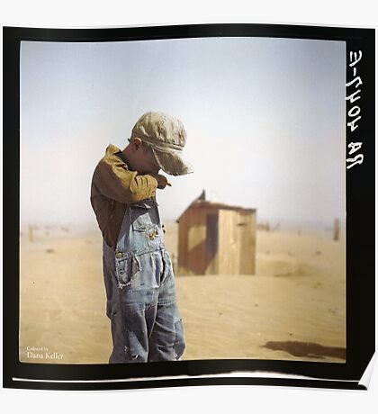 Farmer's Son, Dust Bowl, 1936 Poster
