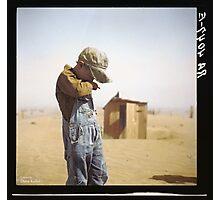 Farmer's Son, Dust Bowl, 1936 Photographic Print