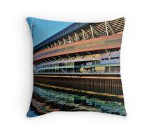 Millennium Stadium, Cardiff  Throw Pillow