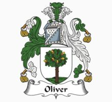 Oliver Coat of Arms / Oliver Family Crest by William Martin