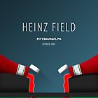 Minimalist Heinz Field - Pittsburgh, PA by pootpoot