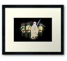 Da Vinci Turtles Framed Print